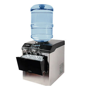 25kg24h Electric Automatic Countertop Bullet Ice Maker Ice Making Machine 220V