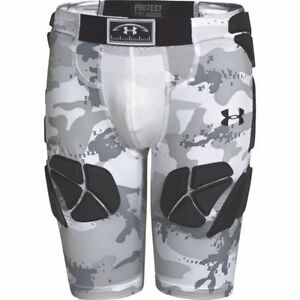 Under Armour Youth Game Day Armour Camo 5 Pad Football Girdle Short Boys M or XL