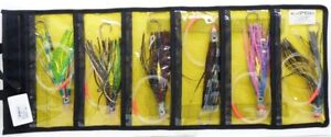 BLACK BART 2065 Lures TunaDolphin Rigged Trolling Pack SS Single Hook