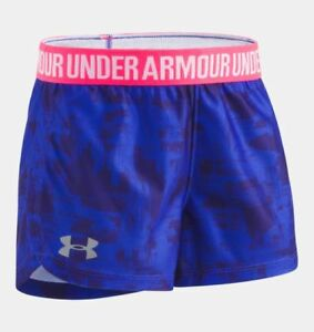 Under Armour Baby Girls Painted Streak Play Up Shorts Constellation Purple 4T