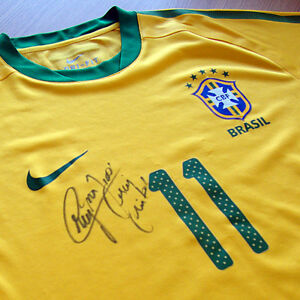 Neymar [PSGBrazil] - Signed issued shirt [First game with Brazil]