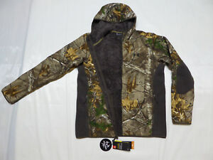 UNDER ARMOUR Realtree STEALTH Fleece JACKET whood _LG_XL_2XL_Hoodie 1283119-947