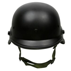 Tactical Military Airsoft M88 PASGT Kelver Swat Helmet Durable With Clear Visor
