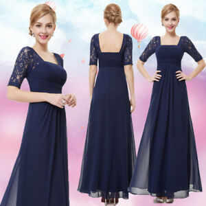 US Women Long Formal Prom Dress Cocktail Party Gown Evening Bridesmaid Dress