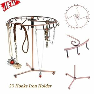 10x Rotating Jewelry Holder Stand Display Organizer for Bracelet Necklaces Rings
