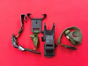 US GI Military MICH PASGT NVG Helmet Mount Assembly Strap Rhino Mounting System