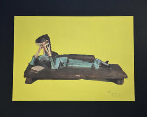 Pablo Picasso Special Helio Lithograph Women on a Bench Hand Signed with COA. $499.00