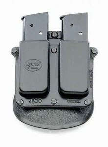 4500p DOUBLE MAGAZINE HOLSTER POUCH 1911 SINGLE STACK FITS 45 CAL 9MM