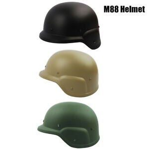 Airsoft Army Tactical M88 Helmet PASGT Kelver Swat Helmets with Adjustable Strap