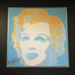 Andy Warhol 1982 Signed