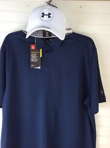 NWT UNDER ARMOUR COOL SWITCH GOLF POLO AND
