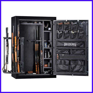 [ No Tax ] Bighorn Heavy Duty 31.4 Cu Ft Safe 60 Min.Fire Rating Made in USA