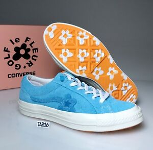CONVERSE ONE STAR X GOLF WANG LE FLEUR SUEDE Bachelor Blue Tyler The Creator Sky