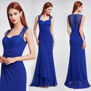 Ever-pretty Women's Long Elegant Formal Prom Gowns Cocktail Party Dresses 08776