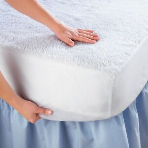 King Size Waterproof Mattress Pad Protector Bed Topper Cover Hypoallergenic Soft $22.99