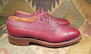10.5 F  G.F.CHRISTMAS SHOES  Geolsweeney master boot maker To H.M. KING GEORGE V