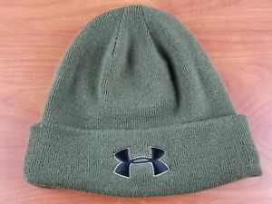 Under Armour Tactical Stealth Beanie Mens Stocking Cap size L Green