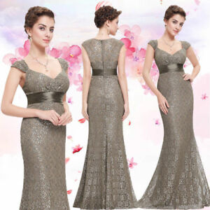 US Women Mermaid Formal Evening Party Dresses Gown Cocktail Ball Dresses 08798