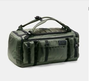 Under Armour Project Rock USDNA Range Duffle Bag Downtown Green