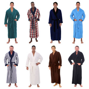 Alexander Del Rossa Mens Turkish Terry Cloth Robe 14 Colors Small - 4 XL Size