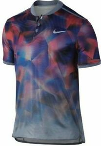 Nike Court Dry Advantage Men's Slim Fit Tennis Polo Shirt - Size M 854605 497