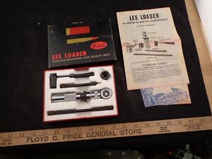 RARE LEE LOADER 264 WINCHESTER MAGNUM HAND RELOADING TOOL SYSTEM W BOX
