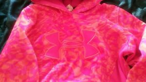 Girls youth medium 8 10 under armour hoodie $20.00