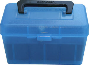 NEW! MTM H50-RL-24 Deluxe 50-Round Rifle Ammo Case Box 30-06 270 Win 2 H50-RL-24