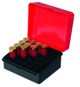 Plano Shot Shell Box Holds 25 round of 12/16 gauge 5.5L x 5.13W x 3H Inch 121601