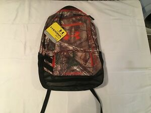 NWT $69.99 Under Armour Storm Camo Hustle Backpack Realtree Xtra