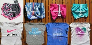 NIKE GIRLS 3T or 4T * 8pc ~ NIKE TEMPO RUNNING SHORTS ~ T-SHIRTS ~ $178 SUMMER