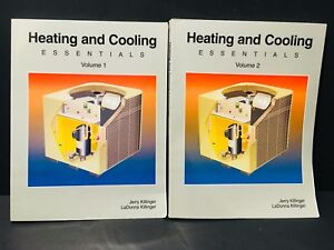 Heating And Cooling Essentials Volume 1 & 2 Jerry Killinger LaDonna Killinger