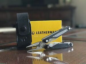 LOT of 2 NEW Leatherman CHARGE AL 830662 Multi-Tool Leather SheathFREE PRIORITY