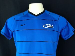 Nike Team Fit Dry V-Neck Youth's Short Sleeve Active Outdoor Shirt Size XL