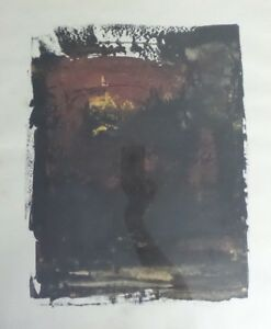 ABSTRACT MODERNIST PAINTING BY DANIEL MANRIQUE ARIAS - TEPITO ARTE ACA MEXICO