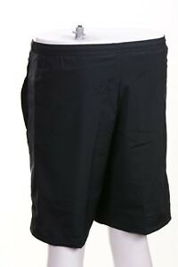 $38 Nike Men's Challenger Anthracite Drawstring Shorts Solid Black Size S