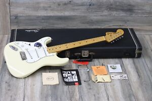 AWESOME! Fender Hendrix Voodoo Stratocaster 1997 Olympic White + OHSC