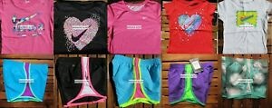 GIRLS 4 SUMMER CLOTHING ~ TEMPO RUNNING SHORTS ~ T-SHIRTS ~ Brand NEW $217