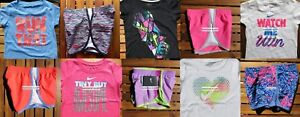 GIRLS 4 SUMMER CLOTHING ~ TEMPO RUNNING SHORTS ~ T-SHIRTS ~ Brand NEW $221