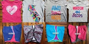 GIRLS 6 SUMMER CLOTHING ~ TEMPO RUNNING SHORTS ~ T-SHIRTS ~ NEW ~ $173 Retail