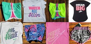 GIRLS 4 SUMMER CLOTHING ~ TEMPO RUNNING SHORTS~ T-SHIRTS ~ New ~ 8 Pieces ~ $180
