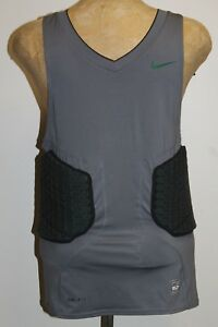 NIKE PRO COMBAT Padded DRI-FIT HYPERSTRONG Basketball Compression Shirt LARGE