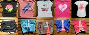 NIKE GIRLS ~ 2T ~ 3T or 4T * 10pc ~ NIKE RUNNING SHORTS ~ T-SHIRTS ~ $227 SUMMER