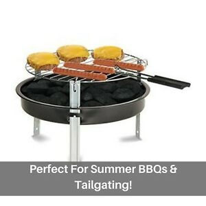Grill Boss Portable Charcoal Grill + 1.2-Lbs. of Charcoal 12-In. tailgating