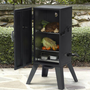 Electric Smoker Grill Outdoor Meat Cooker Wood Smoke Digital BBQ Barbecue Burner
