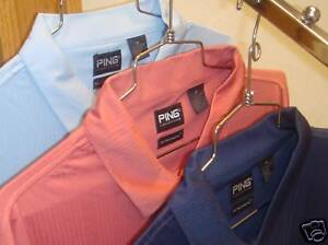 (4) PING Golf Mens Size XXXXL Dry Fiber Drop Needle Polo Shirts Dri fit 4XL $240