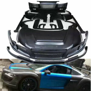 GTR Bodykit Carbon Fiber Kits for Audi R8 change to PPI (CF bumperhoodspoiler)