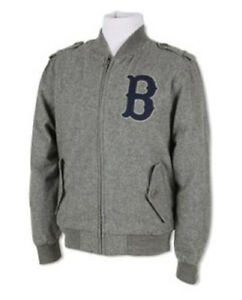 NWT! MITCHELL & NESS BOSTON RED SOX CUTTER TRACK JACKET WINTER COAT HIGH FASHION
