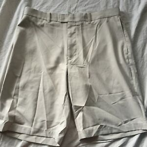 Callaway Golf Shorts Khaki 100% Polyester Men's 34