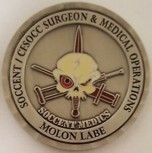 Surgeon & Medical Special Operations Command SOCCENT CFSOCC AIRBORNE MEDICS